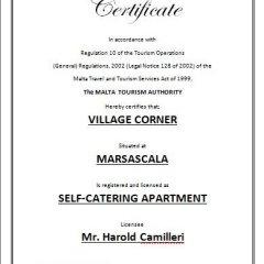 Отель Village Corner Марсаскала городской автобус