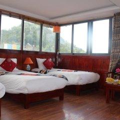 Fansipan View Hotel 3* Люкс с различными типами кроватей фото 9