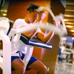 Отель Fairmont Singapore Сингапур фитнесс-зал фото 2