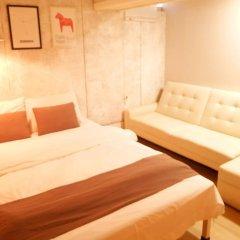 Отель The Mei Haus Hongdae 3* Номер Делюкс с различными типами кроватей фото 2