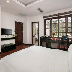 Quoc Hoa Premier Hotel 4* Улучшенный номер разные типы кроватей фото 4