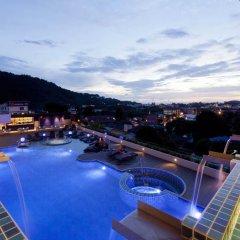 Отель Yama Phuket 4* Улучшенный номер двуспальная кровать фото 5
