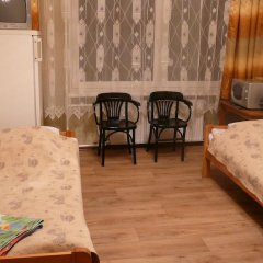 Отель Mano kelias Стандартный семейный номер с двуспальной кроватью (общая ванная комната) фото 5