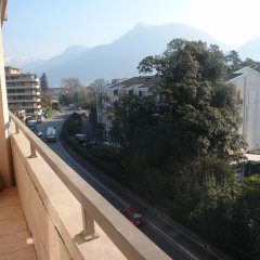 Отель Appartamenti KKD Лугано балкон