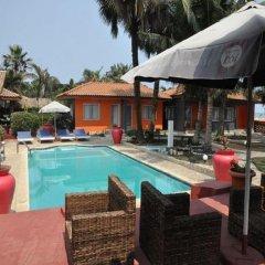 Отель Residence Saint-Jacques Bord de Mer Республика Конго, Пойнт-Нуар - отзывы, цены и фото номеров - забронировать отель Residence Saint-Jacques Bord de Mer онлайн бассейн фото 2