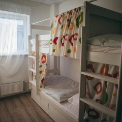 Hostel For You Кровать в общем номере с двухъярусной кроватью фото 9
