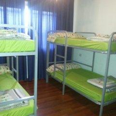 Отель Albergue Pension Flavia Кровать в общем номере фото 9