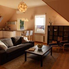 Апартаменты Vecbulduri Apartment Jurmala Апартаменты с разными типами кроватей фото 4