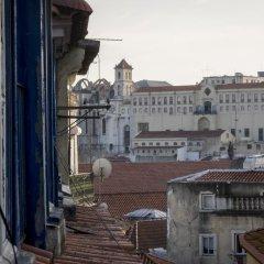 Отель Castle View at Lisbon Heart балкон