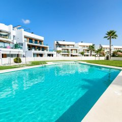 Отель Bungalow Bennecke Sirena Испания, Ориуэла - отзывы, цены и фото номеров - забронировать отель Bungalow Bennecke Sirena онлайн бассейн фото 3