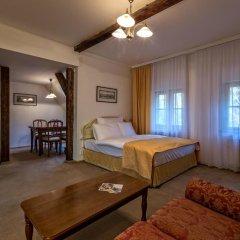 Отель Slaby&Bambur Residence Castle 4* Улучшенные апартаменты с разными типами кроватей фото 14