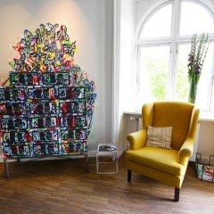 Отель Ibsens Hotel Дания, Копенгаген - отзывы, цены и фото номеров - забронировать отель Ibsens Hotel онлайн интерьер отеля фото 2