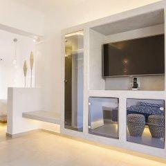 Art Hotel Santorini 4* Люкс с различными типами кроватей фото 11