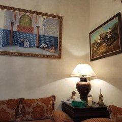Отель Riad Dar Karima Марокко, Рабат - отзывы, цены и фото номеров - забронировать отель Riad Dar Karima онлайн комната для гостей фото 3