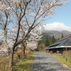 Отель Yufuin Ryokan Baien Хидзи приотельная территория