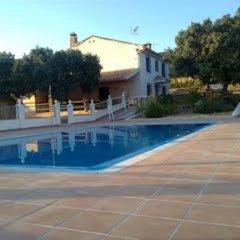 Отель Casa Rural Cabeza Alta Алькаудете бассейн