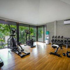 Отель Jamahkiri Resort & Spa фитнесс-зал