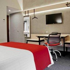 Отель City Express Ciudad Victoria 3* Стандартный номер с различными типами кроватей фото 4