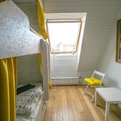 FJC Loft Hostel Кровать в общем номере с двухъярусной кроватью фото 6