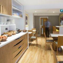 Отель Comfort Inn & Suites Kings Cross Лондон питание