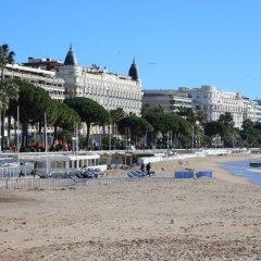Отель Bateguier One bedroom Cannes пляж