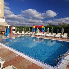 Отель Plamena Palace Болгария, Приморско - 2 отзыва об отеле, цены и фото номеров - забронировать отель Plamena Palace онлайн бассейн фото 2