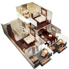 Отель JW Marriott Khao Lak Resort and Spa 5* Люкс с 2 отдельными кроватями