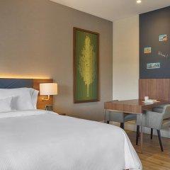 Отель Element Amsterdam Студия с двуспальной кроватью фото 7
