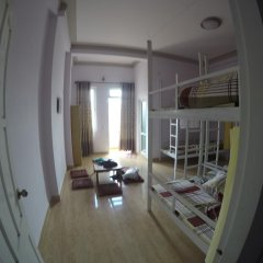 Отель SunnyDalat Homestay Кровать в общем номере