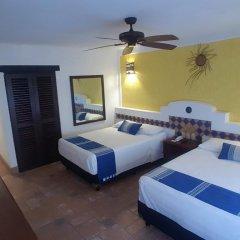 Отель Playa Conchas Chinas 3* Стандартный номер фото 3