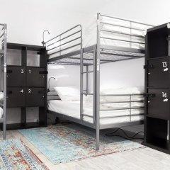 HighRoad Hostel DC Кровать в общем номере с двухъярусной кроватью фото 6