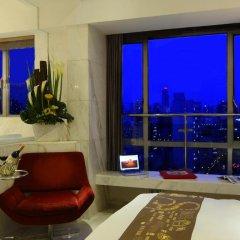 Kingtown Hotel Hongqiao 4* Номер Делюкс с различными типами кроватей