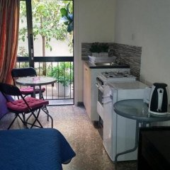 Апартаменты Myriama Apartments Студия с различными типами кроватей фото 16