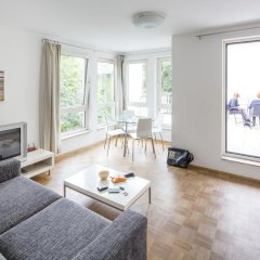 Апартаменты Pfefferbett Apartments Regierungsviertel Берлин комната для гостей фото 2