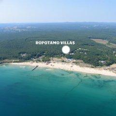 Отель Villas Ropotamo Maisonette Болгария, Приморско - отзывы, цены и фото номеров - забронировать отель Villas Ropotamo Maisonette онлайн пляж фото 2