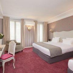 Отель Hôtel Louvre Montana 4* Стандартный номер с различными типами кроватей фото 6