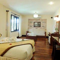 Отель Vinh Hung Riverside Resort & Spa 3* Улучшенный номер с различными типами кроватей фото 8