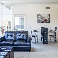 Апартаменты Heaven on Washington Furnished Apartments комната для гостей фото 2