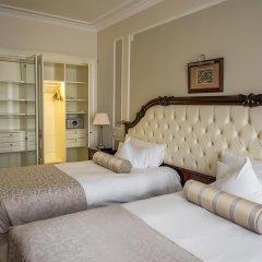 Гостиница Эрмитаж - Официальная Гостиница Государственного Музея 5* Президентский люкс двуспальная кровать фото 2
