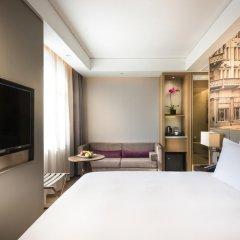 Отель Mercure Shanghai Hongqiao Airport 4* Улучшенный номер с различными типами кроватей фото 3