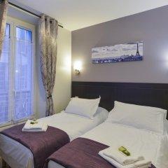 Отель Hôtel du Quai de Seine 2* Стандартный номер с различными типами кроватей фото 5