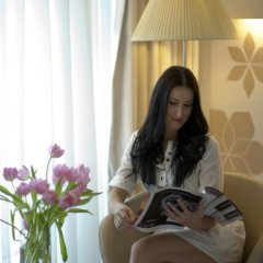 Отель Crowne Plaza Abu Dhabi Yas Island 4* Улучшенный номер с различными типами кроватей фото 5