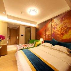 Апартаменты Guangzhou Chimelong Heefun International Service Apartment Гуанчжоу комната для гостей фото 2