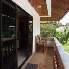 Отель Waree's Guesthouse балкон