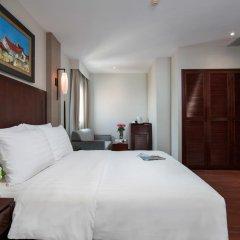 Quoc Hoa Premier Hotel 4* Улучшенный номер разные типы кроватей фото 2