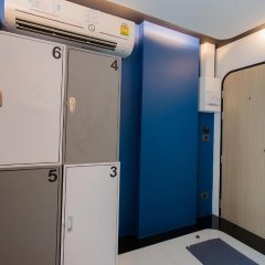 BearPacker Patong Hostel сейф в номере