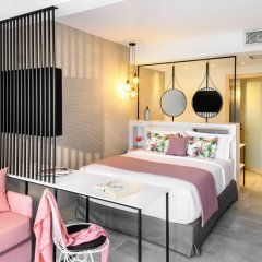 Отель Antigoni Beach Resort 4* Стандартный номер с различными типами кроватей фото 10