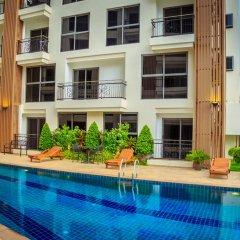 Отель City Garden Pratamnak Condominium By Mr.butler Паттайя бассейн фото 3