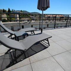 Отель Centragence Les Terrasse De Gairaut Vue Mer Ницца балкон