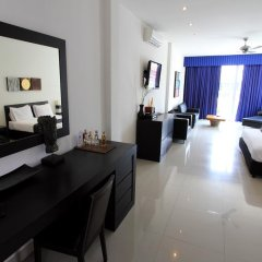 Отель East Suites Представительский люкс с различными типами кроватей